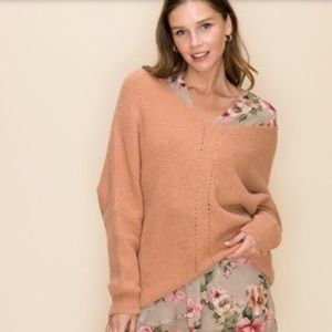 NEW🎈The Bella -Oversized dusty pink sweater